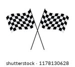 vector illustration crossed... | Shutterstock .eps vector #1178130628