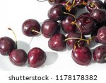 cherry in the united states ... | Shutterstock . vector #1178178382