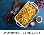 traditional stuffing side dish...   Shutterstock . vector #1178196715