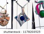 flea market  natural stones ... | Shutterstock . vector #1178203525