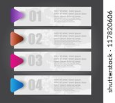 web banners with different...   Shutterstock .eps vector #117820606