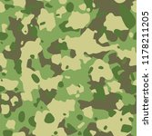 seamless army camouflage... | Shutterstock .eps vector #1178211205