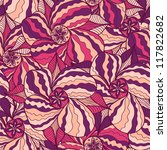 abstract floral seamless pattern | Shutterstock .eps vector #117822682