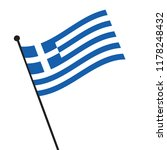 flag of greece greece flag icon ... | Shutterstock .eps vector #1178248432