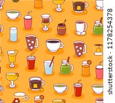 vector illustration with... | Shutterstock .eps vector #1178254378