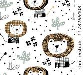 seamless pattern in... | Shutterstock .eps vector #1178266408