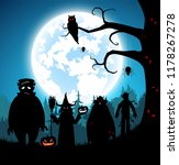 illustration blue background... | Shutterstock .eps vector #1178267278