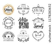 badge set for small businesses  ... | Shutterstock . vector #1178283652
