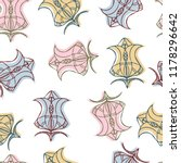 vector seamless pattern luxury... | Shutterstock .eps vector #1178296642