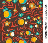 seamless vector texture with... | Shutterstock .eps vector #117829855