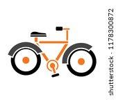 vector bicycle icon  vector... | Shutterstock .eps vector #1178300872