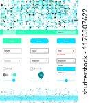 light blue  green vector design ... | Shutterstock .eps vector #1178307622