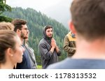 young group of men and women... | Shutterstock . vector #1178313532
