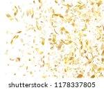 gold glitter realistic confetti ... | Shutterstock .eps vector #1178337805