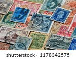 philately is the field of... | Shutterstock . vector #1178342575