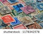 philately is the field of... | Shutterstock . vector #1178342578
