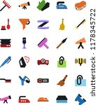 vector icon set   scraper... | Shutterstock .eps vector #1178345722