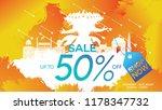 dussehra mega sale with special ...   Shutterstock .eps vector #1178347732
