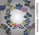vintage garden natural seamless ... | Shutterstock .eps vector #1178355532