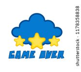 game over concept image | Shutterstock .eps vector #1178358838