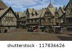 Medieval Or Fantasy Town Squar...