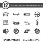 auto tuning vector icons for... | Shutterstock .eps vector #1178388298