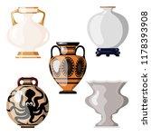 set of antique utensils for... | Shutterstock .eps vector #1178393908