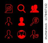 seo icons set with users ... | Shutterstock .eps vector #1178407132