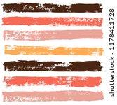 brush strokes set backgrounds.... | Shutterstock .eps vector #1178411728