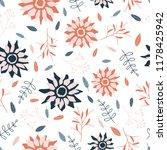 autumn seamless pattern | Shutterstock .eps vector #1178425942