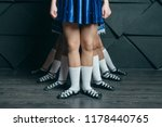 irish dance  the legs of the... | Shutterstock . vector #1178440765