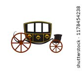 retro carriage  wagon for... | Shutterstock .eps vector #1178454238