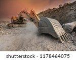 Large Excavator Extracting...