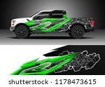 car decal wrap  truck and...   Shutterstock .eps vector #1178473615