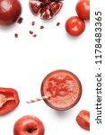pomegranate  tomato  pepper and ...