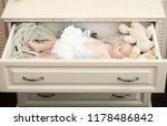 newborn toddler with blue eyes... | Shutterstock . vector #1178486842