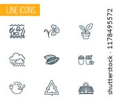 harmony icons line style set... | Shutterstock .eps vector #1178495572
