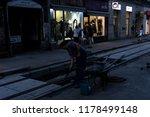 zagreb  croatia  09 11 2018 a... | Shutterstock . vector #1178499148