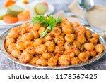 turkish foods  bulgur garlic... | Shutterstock . vector #1178567425