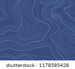 topographic map  blue... | Shutterstock .eps vector #1178585428