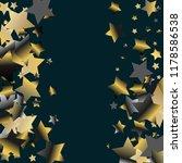 stars confetti vertical border. ... | Shutterstock .eps vector #1178586538