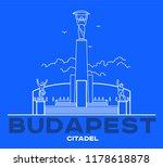 citadel line art icon  europe....   Shutterstock .eps vector #1178618878