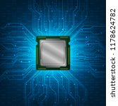 cpu essential part of the... | Shutterstock .eps vector #1178624782