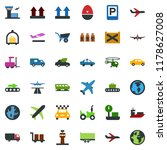 colored vector icon set  ... | Shutterstock .eps vector #1178627008