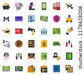 colored vector icon set   safe... | Shutterstock .eps vector #1178628208