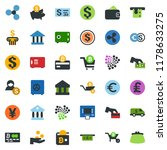 colored vector icon set  ... | Shutterstock .eps vector #1178633275