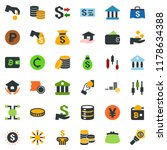 colored vector icon set  ... | Shutterstock .eps vector #1178634388