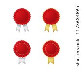award ribbon vector | Shutterstock .eps vector #1178634895