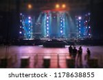 preparing the stage for a... | Shutterstock . vector #1178638855