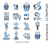 leader have a systematic... | Shutterstock .eps vector #1178659165